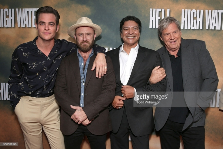 chris-pine-ben-foster-gil-birmingham-and-jeff-bridges-attend-a-of-picture-id588332546